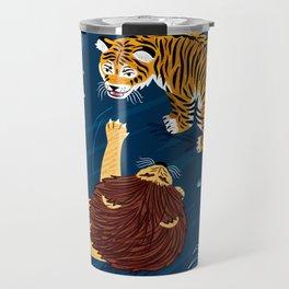 Rumble In The Jungle Travel Mug