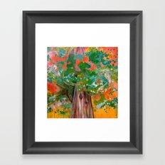 Treelight Framed Art Print