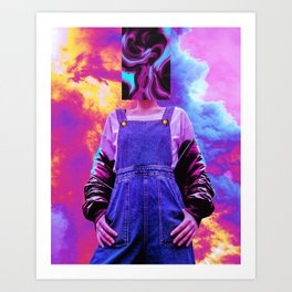 Abstra Art Print