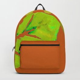 Leaves de la Autumn painting with digital frolicksomeness Backpack