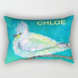 Bird for Chloe Rectangular Pillow