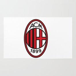 AC Milan Logo Rug