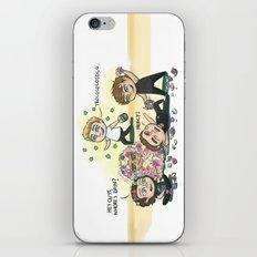 Flower Fight iPhone & iPod Skin