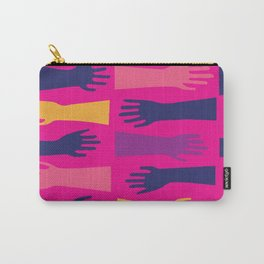 Hands of Fuschia Carry-All Pouch