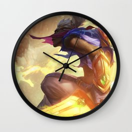 Sandstorm Ekko League Of Legends Wall Clock