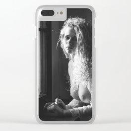 Tu m as promis BW Clear iPhone Case