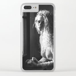 Tu m as promis BW Clear iPhone Case
