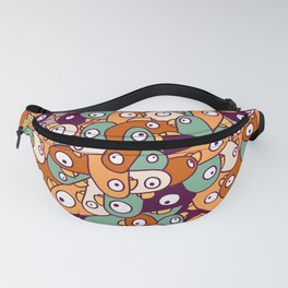 PEPEPE! Social distancing birds | seamless pattern Fanny Pack