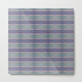 horizontal stripes Metal Print