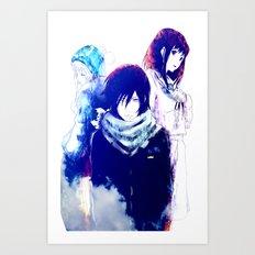 NORAGAMI 3 Art Print