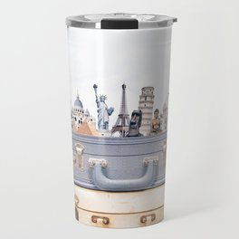 Travel Luggage Travel Mug