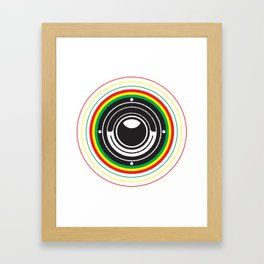 Trinity Bass Vibration Framed Art Print