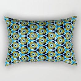 Cornfield N' Blue Sky Pattern 3 Rectangular Pillow