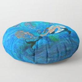 Myth of the Sea New Age Floor Pillow