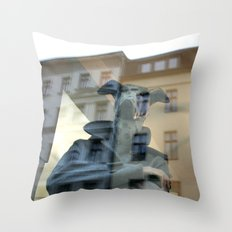 Doggerman Throw Pillow