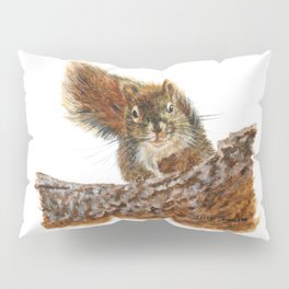 Cheeky the Red Squirrel by Teresa Thompson Pillow Sham