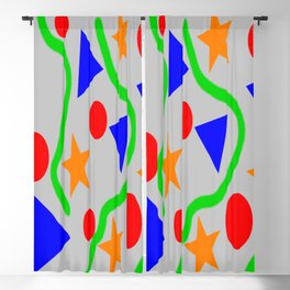 90s Pattern Blackout Curtain