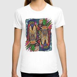 Golden Cicadas  T-shirt
