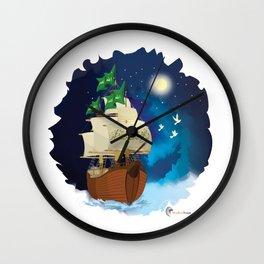 The Ark of Noah Wall Clock