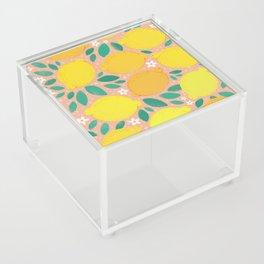 Meyer Lemons Acrylic Box