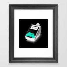 Blow the Whistle Framed Art Print