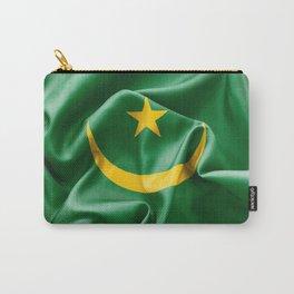Mauritania Flag Carry-All Pouch