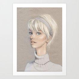 Lizzy Art Print