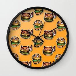 Burgie Pattern Wall Clock