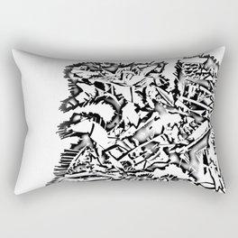 Dragon Scrap Rectangular Pillow