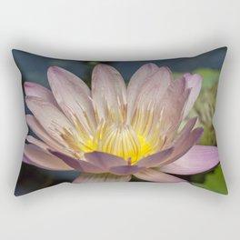 Beautiful Wateer Lily Rectangular Pillow
