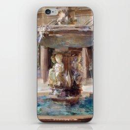 Cupid's Fountain iPhone Skin