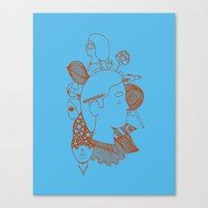 MashUp Three Canvas Print