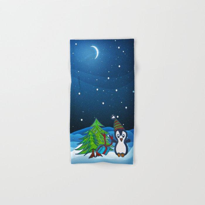 Christmas Gifts | Christmas Spirit | Kids Painting Hand & Bath Towel