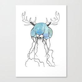 dear//deer Canvas Print