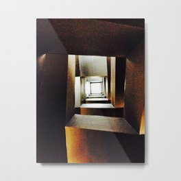 Upstairs Metal Print