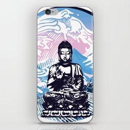 Buddha Tropical Mountain Wave iPhone Skin