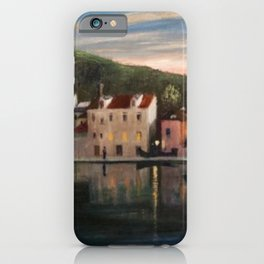 Sun Looking back at Trau by Csontváry Kosztka Tivada iPhone Case