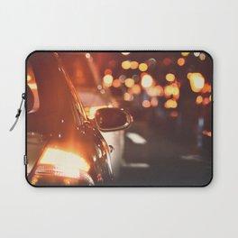 Night drive. Laptop Sleeve