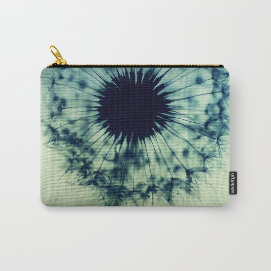 dandelion green teal Carry-All Pouch