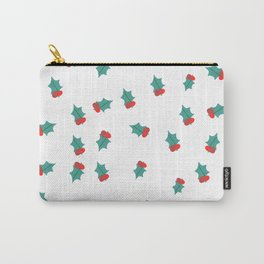 Ditsy Mistletoe Carry-All Pouch