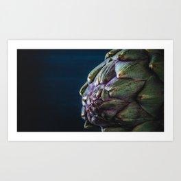Artichoke close-up Art Print