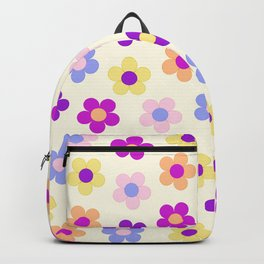 Flower Power Design Backpack