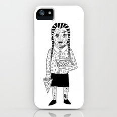 WEDNESDAY ADDAMS iPhone (5, 5s) Slim Case