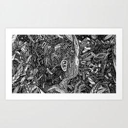 DDWIWDD (Still Frame 1) Art Print