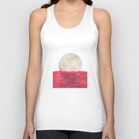 moonrise Tank Tops featuring moonrise by sharon