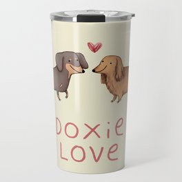 Doxie Love Travel Mug