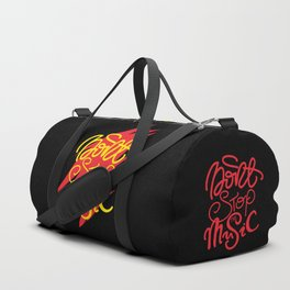 Don't Stop the music Duffle Bag
