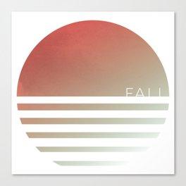 FALL (Circle Seasons Series) Canvas Print