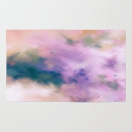 Color Burst - Blue Hydras Rug