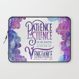 PATIENCE AND SILENCE Laptop Sleeve